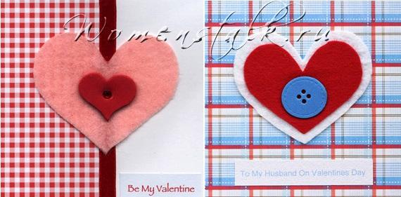 открытки из фетра своими рукамии